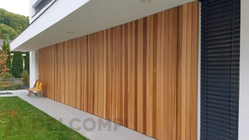 Wester red cedar vertical
